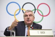 El presidente del COI reconoció que no sería posible otro aplazamiento de Tokio 2020