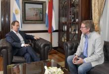 Bahillo agradeció la designación como ministro que le formuló el gobernador Bordet.