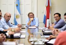 Bahillo con Amavet e intendentes