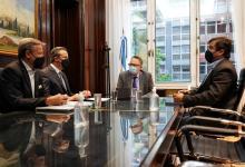 Bahl presentó proyectos de inversión para la ciudad al ministro Kulfas