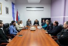 Bahl gestiona obras viales que realizará en Paraná tras asumir la Intendencia