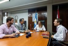 Bahl articula las políticas de desarrollo social con la provincia