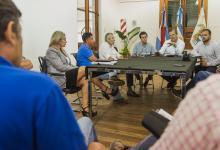 reunión Obras Sanitarias Paraná