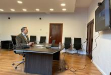 Adán Bahl videoconferencia con Emilio Jatón
