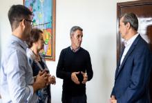 Reunión con funcionarios de Nación