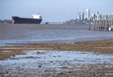 Advierten que la bajante del río Paraná continuará y acentuará el impacto en las exportaciones.