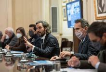 El Jefe de Gabinete de Ministros de la Nación, Santiago Cafiero, encabezó ayer una nueva reunión del Comité de crisis permanente por la bajante histórica del río Paraná.