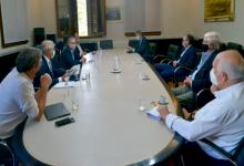 Reunión del ministro Luis Basterra con representantes del Consejo Agroindustrial Argentino (Foto: Ministerio de Agricultura)