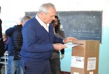 Atilio Benedetti votó en Larroque