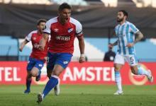 Racing tropezó de local ante Nacional de Montevideo en su regreso a la Copa Libertadores