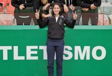 Atletismo: la crespense Betsabé Paez logró el mejor registro de 2019