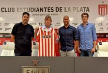 Ricardo Zielinski firmó su contrato como director técnico de Estudiantes de La Plata