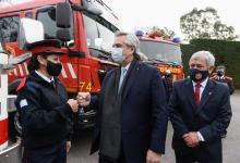 El Presidente Alberto Fernández promulgó la Ley de Fortalecimiento del Sistema de Bomberos Voluntarios que incluye la exención del pago de servicios públicos.
