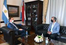 Bordet y Bahl analizaron las acciones conjuntas entre ambos gobiernos y Nación