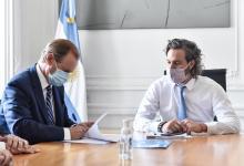 Firmaron el convenio para la construcción de la Costanera Nebel en Concordia