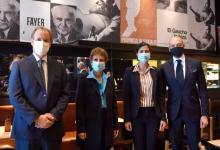 Bordet delineó un trabajo de cooperación comercial y cultural con la embajadora de Israel