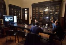 Bordet analizó con diputados del oficialismo el proyecto de emergencia solidaria