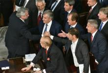 Gustavo Bordet participó del acto de apertura del 138º período de sesiones ordinarias del Congreso de la Nación que llevó a cabo el Presidente de la Nación ante la Asamblea Legislativa.