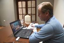 En el encuentro virtual se confirmó el financiamiento para la de viviendas en Paraná.
