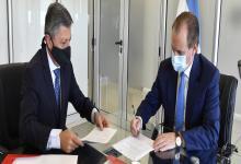 Bordet firmó convenio con el gerente del Bersa, Miguel Ángel Malatesta