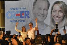 Gustavo Bordet y Laura Stratta