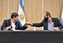 Bordet y Arroyo acordaron microcréditos y acciones para la primera infancia