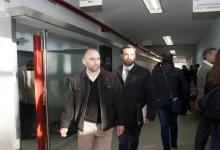 Germán Buffa y su abogado