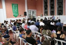 """El ex gobernador Jorge Busti destacó que """"uno de los objetivos primordiales que nos propusimos desde un primer momento al conformar este grupo de trabajo, es lograr acercar la historia de ´Pancho´ Ramírez a los más jóvenes""""."""