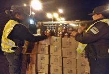 Gendarmería Concordia secuestró un cargamento de café valuado en más de $6 millones
