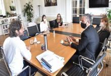 Santiago Cafiero con Amnistía Internacional Argentina