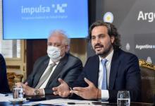 Santiago Cafiero con Ginés González García