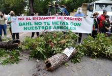protesta calle Racedo