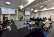"""Bordet trabajó una """"agenda abierta"""" con intendentes de Cambiemos"""