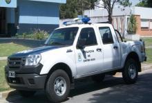 camioneta policial