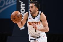 NBA: Campazzo tuvo más minutos y colaboró en la victoria de Denver sobre Oklahoma