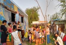 La imagen es del 30 de septiembre del año pasado, pero testimonia la experiencia en el barrio Capibá de Paraná que refleja la importancia de la solidaridad y el no ser indiferente ante las necesidades del prójimo.