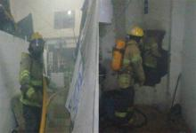 Así quedó la UP 1 luego del motín. El incendio de colchones ocurrió en dos pabellones el 17 y el 22 tras una pelea entre internos. Los Bomberos Voluntarios de Paraná debieron intervenir para sofocar las llamas.