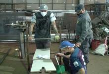 taller cárcel de Paraná