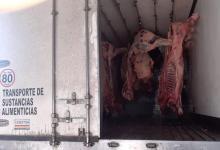 Decomisaron carne vacuna en operativos de fiscalización en la provincia