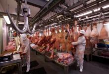 Exportación de carne.