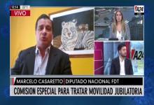 Marcelo Casaretto en América 24