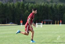 Fútbol: el entrerriano Milton Casco se entrenó a la par del resto del plantel de River