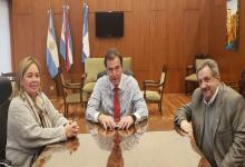 Castrillón y Medina recibieron al director de la Morgue Judicial de la Nación