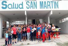 protesta Centro de Salud San Martín