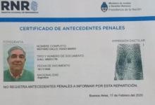 Pese a estar condenado por lesa humanidad, Moyano no registra antecedentes penales