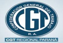 La CGT Regional Paraná manifestó su apoyo a los trabajadores de la UTHGRA