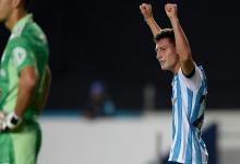Copa Libertadores: el entrerriano Tomás Chancalay le dio a Racing su primer triunfo