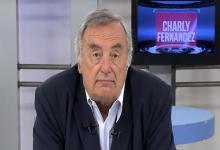 """A los 77 años falleció el periodista político """"Charly"""" Fernández."""