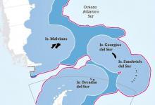 ampliación de la plataforma continental de Chile sobre territorio argentino