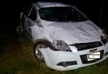 A raíz del impacto, el conductor del Chevrolet Aveo falleció en el lugar del accidente.